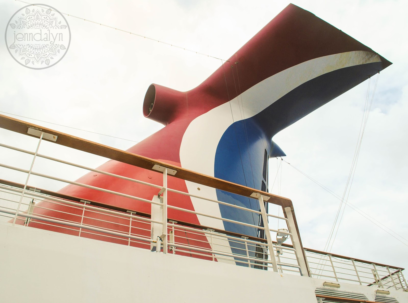 carnival ship funnel cruise